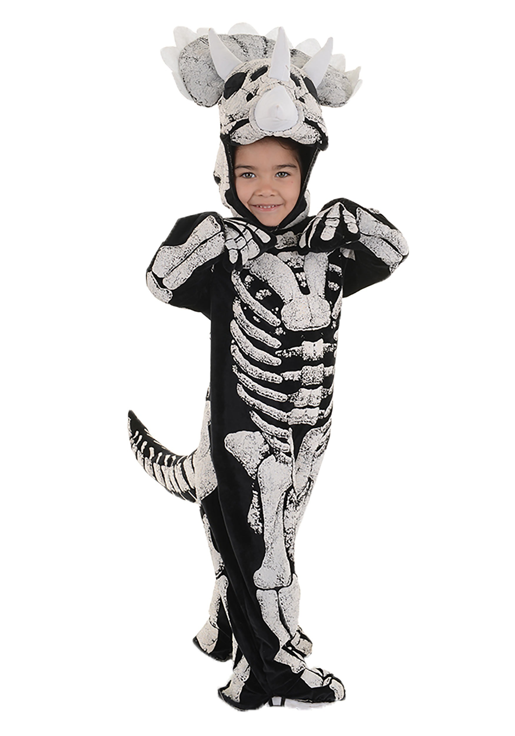 Kids Triceratops Fossil Costume  sc 1 st  Halloween Costumes & Toddler/Child Triceratops Fossil Costume for Boys