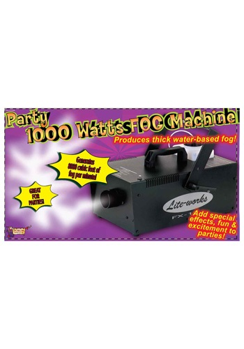 1000W Fog Machine - Halloween Decorations, Haunted House Accessories