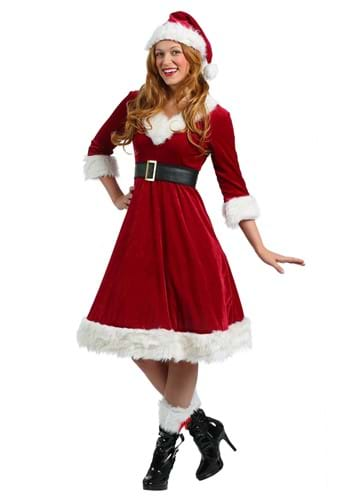 Click Here to buy Womens Santa Claus Sweetie Costume from HalloweenCostumes, USA Funds & Shipping
