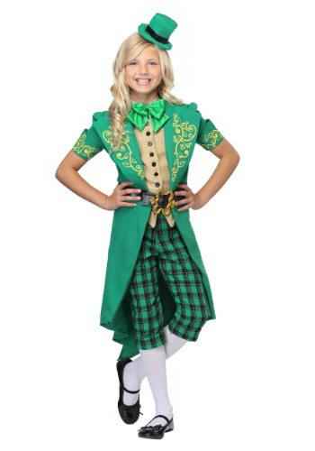 Click Here to buy Charming Leprechaun Girls Costume from HalloweenCostumes, CDN Funds