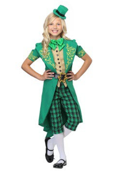 Girl's Charming Leprechaun Costume