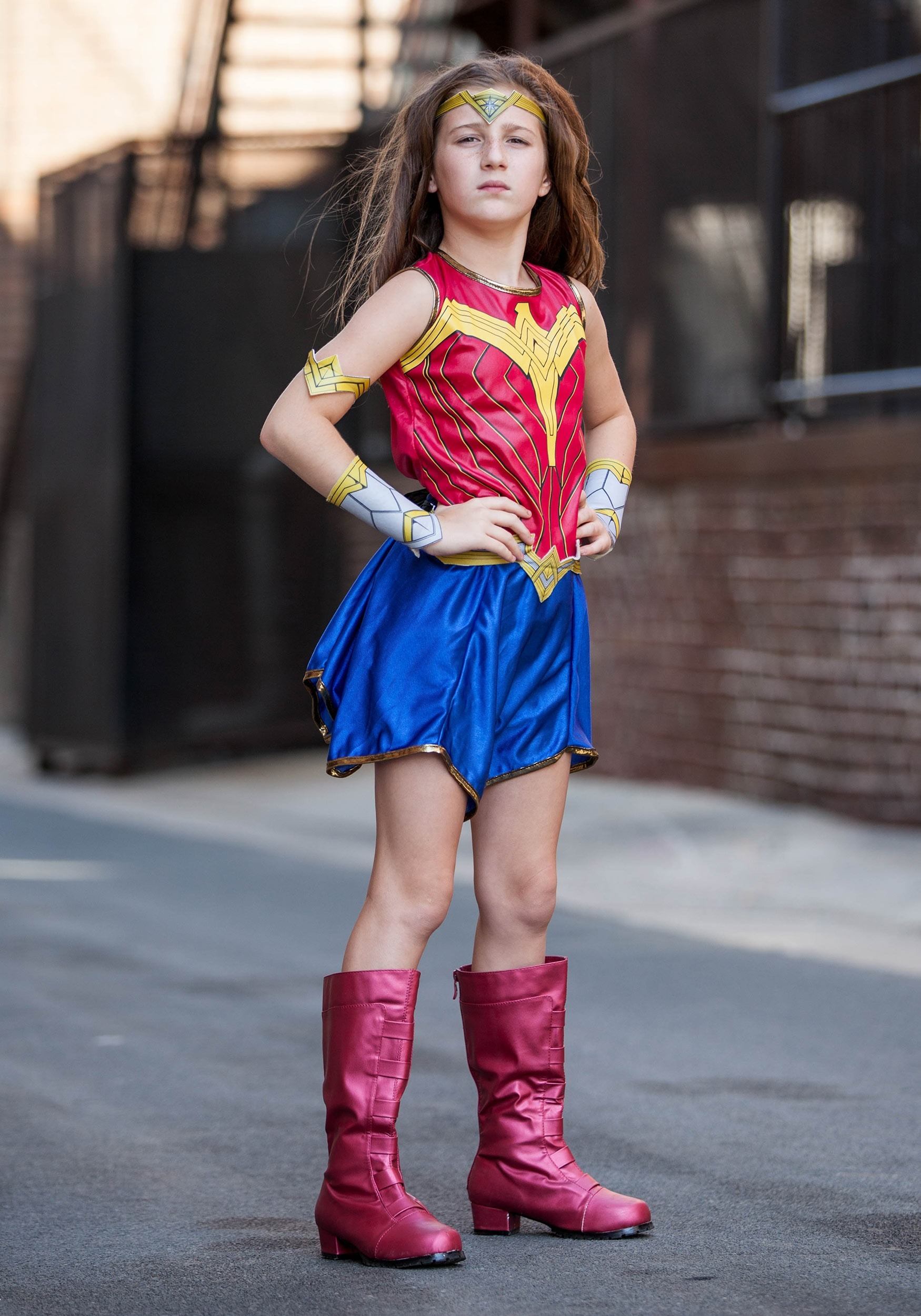 Child Dawn Of Justice Wonder Woman Costume-3180