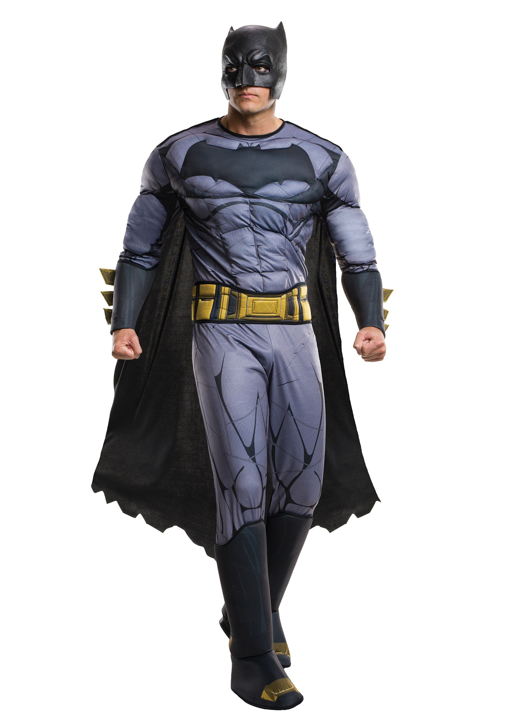 Deluxe Adult Dawn of Justice Batman Costume  sc 1 st  Halloween Costumes & Deluxe Batman v Superman Costume for Adults