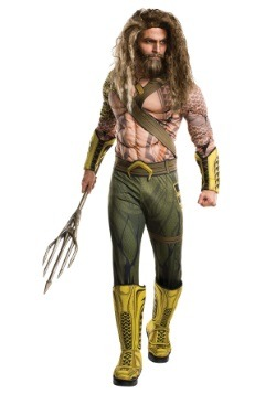 Deluxe Adult Dawn of Justice Aquaman Costume