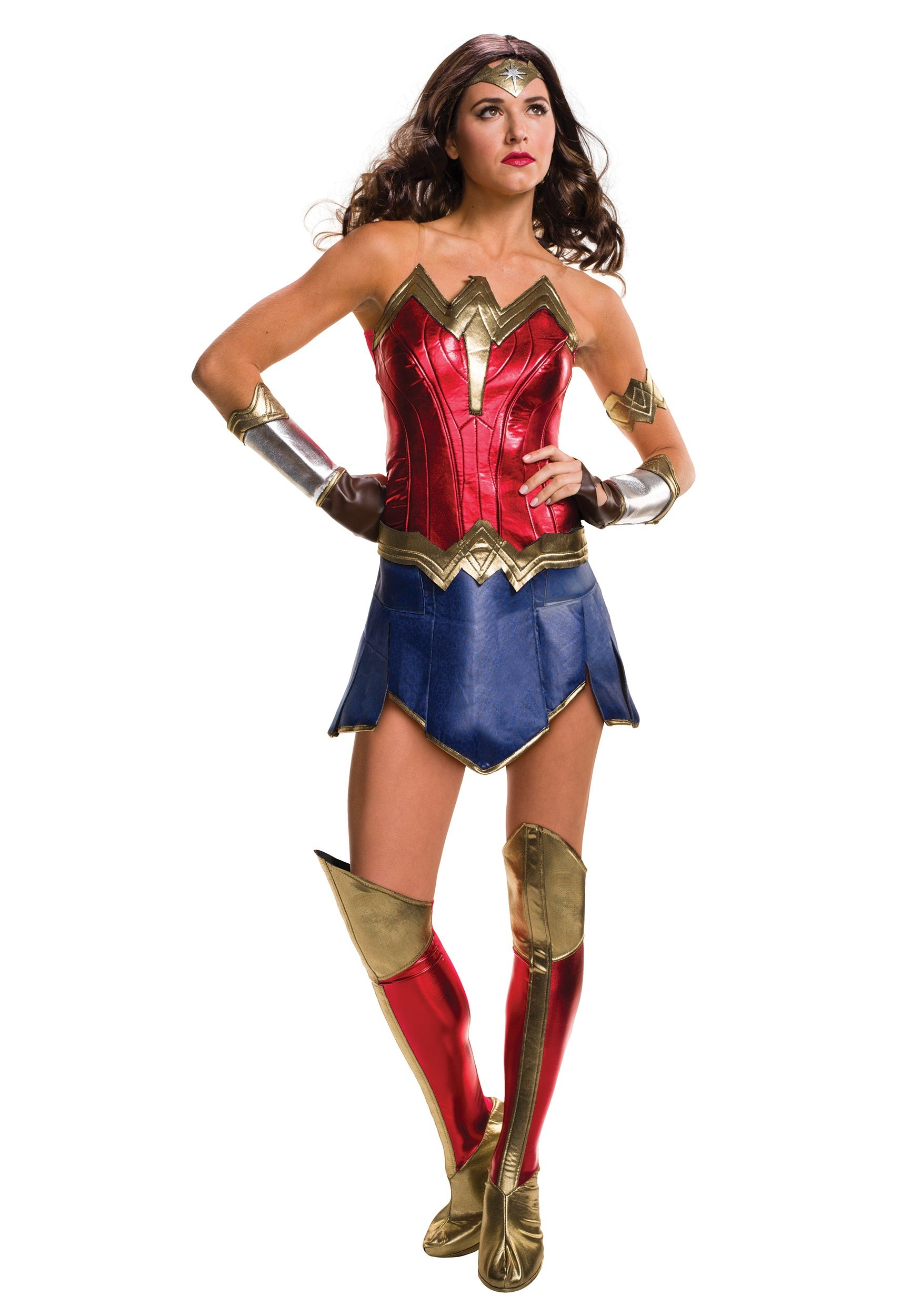 Wonder Woman. You know her. You love her. You're all about her but now the opportunity is in front of you to actually become her. Going in costume is the ultimate way to pay homage to your favorite character, superhero, or celebrity, and since Diana Prince is basically all of the above, we have to commend you on your supreme decision to become the Amazing Amazon.