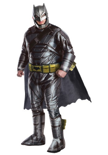 Click Here to buy Plus Size Deluxe Dawn of Justice Armored Batman Costume 1X from HalloweenCostumes, CDN Funds