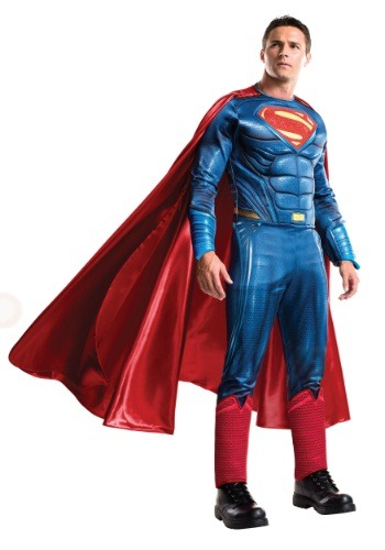 Click Here to buy Mens Grand Heritage Dawn of Justice Superman Costume from HalloweenCostumes, CDN Funds