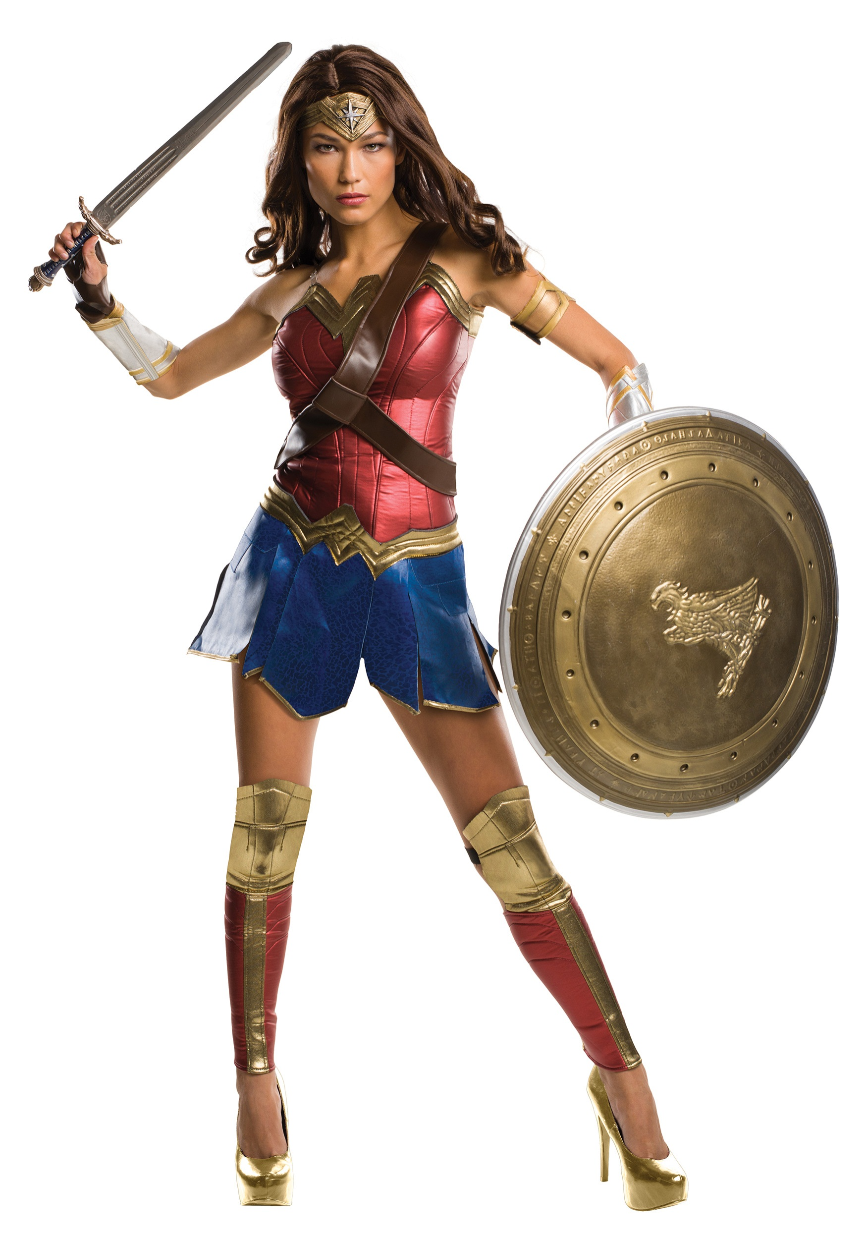 women 39 s grand heritage dawn of justice wonder woman costume. Black Bedroom Furniture Sets. Home Design Ideas