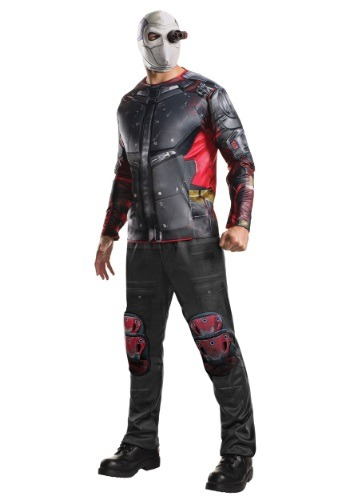 Click Here to buy Deluxe Suicide Squad Deadshot Costume from HalloweenCostumes, USA Funds & Shipping