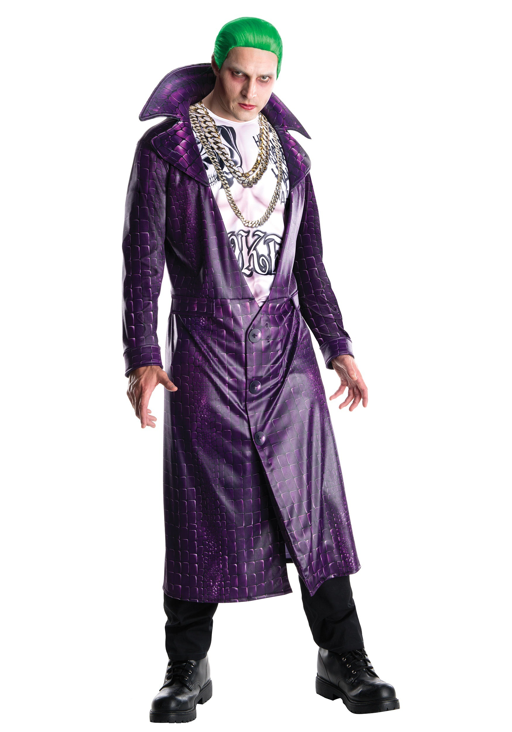 Deluxe Suicide Squad Joker Costume  sc 1 st  Halloween Costumes & Adults Kids Joker Costumes