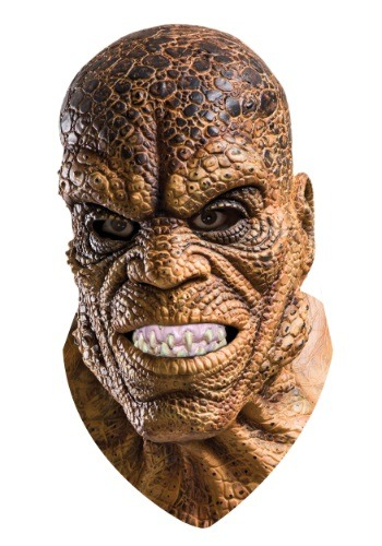 Click Here to buy Suicide Squad Killer Croc Overhead Latex Mask from HalloweenCostumes, CDN Funds