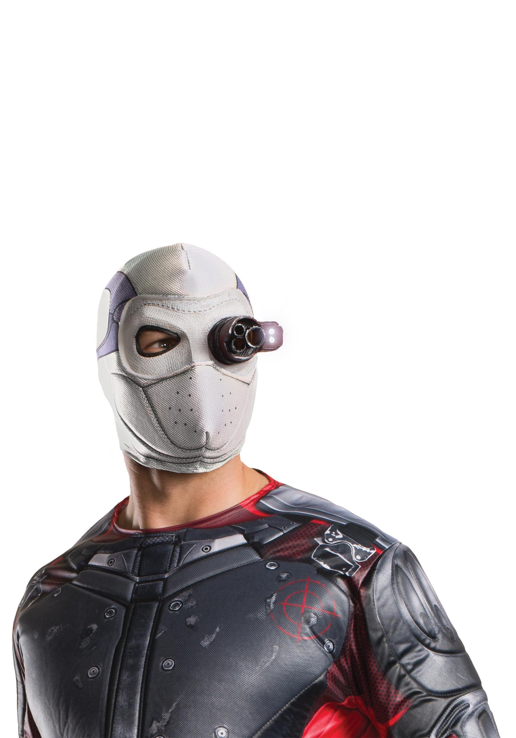 Suicide Squad Deadshot Light Up Mask RU32940
