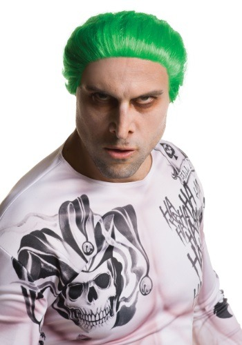 Click Here to buy Suicide Squad Adult Joker Wig from HalloweenCostumes, USA Funds & Shipping