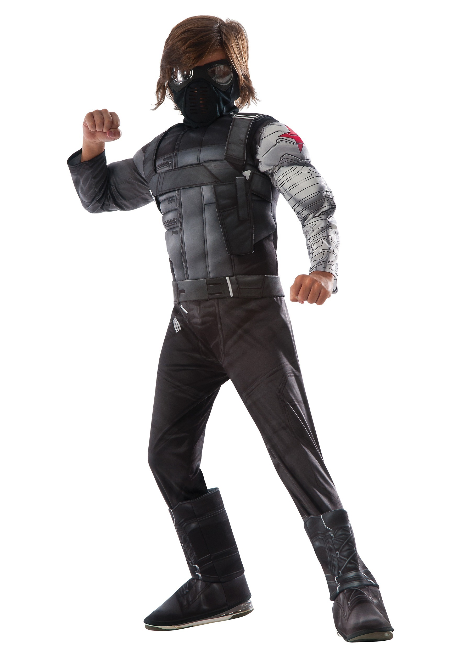 Civil War Winter Soldier Deluxe Costume