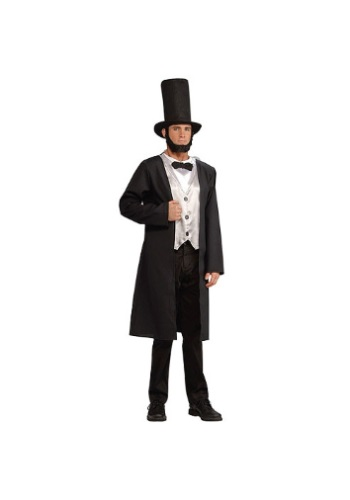 Click Here to buy Adult Abe Lincoln Costume from HalloweenCostumes, USA Funds & Shipping
