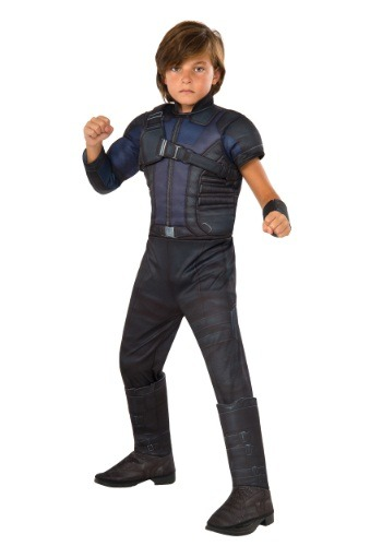 Click Here to buy Boys Civil War Hawkeye Deluxe Costume from HalloweenCostumes, CDN Funds