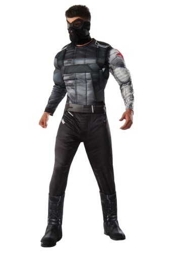 Click Here to buy Mens Deluxe Civil War Winter Soldier Costume from HalloweenCostumes, CDN Funds
