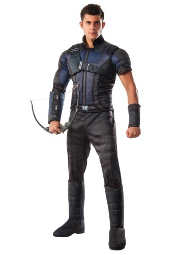 Click Here to buy Mens Deluxe Civil War Hawkeye Costume from HalloweenCostumes, CDN Funds