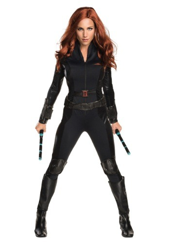 Women's Deluxe Civil War Black Widow Costume