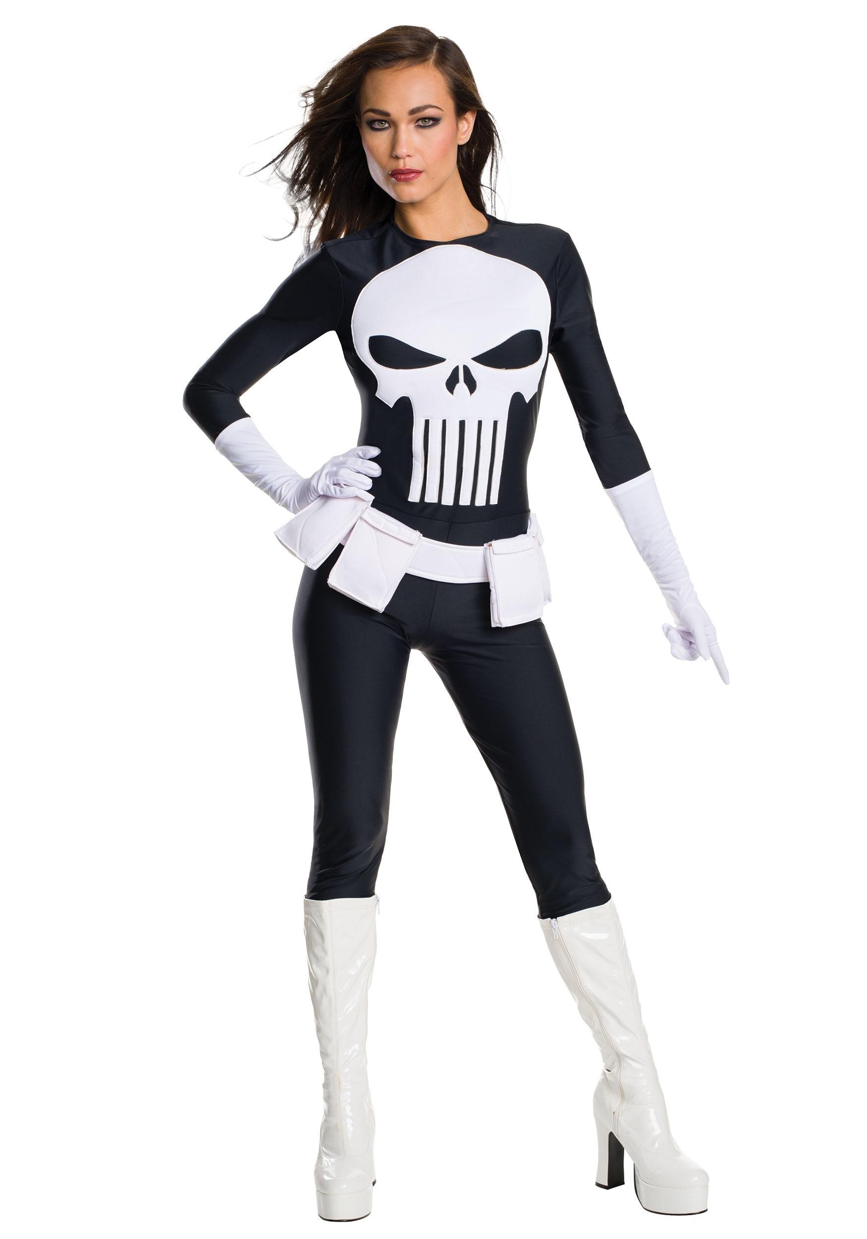 Women's Punisher Costume RU810872