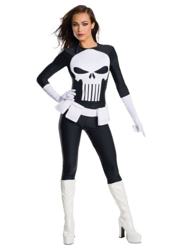 Womens Punisher Costume