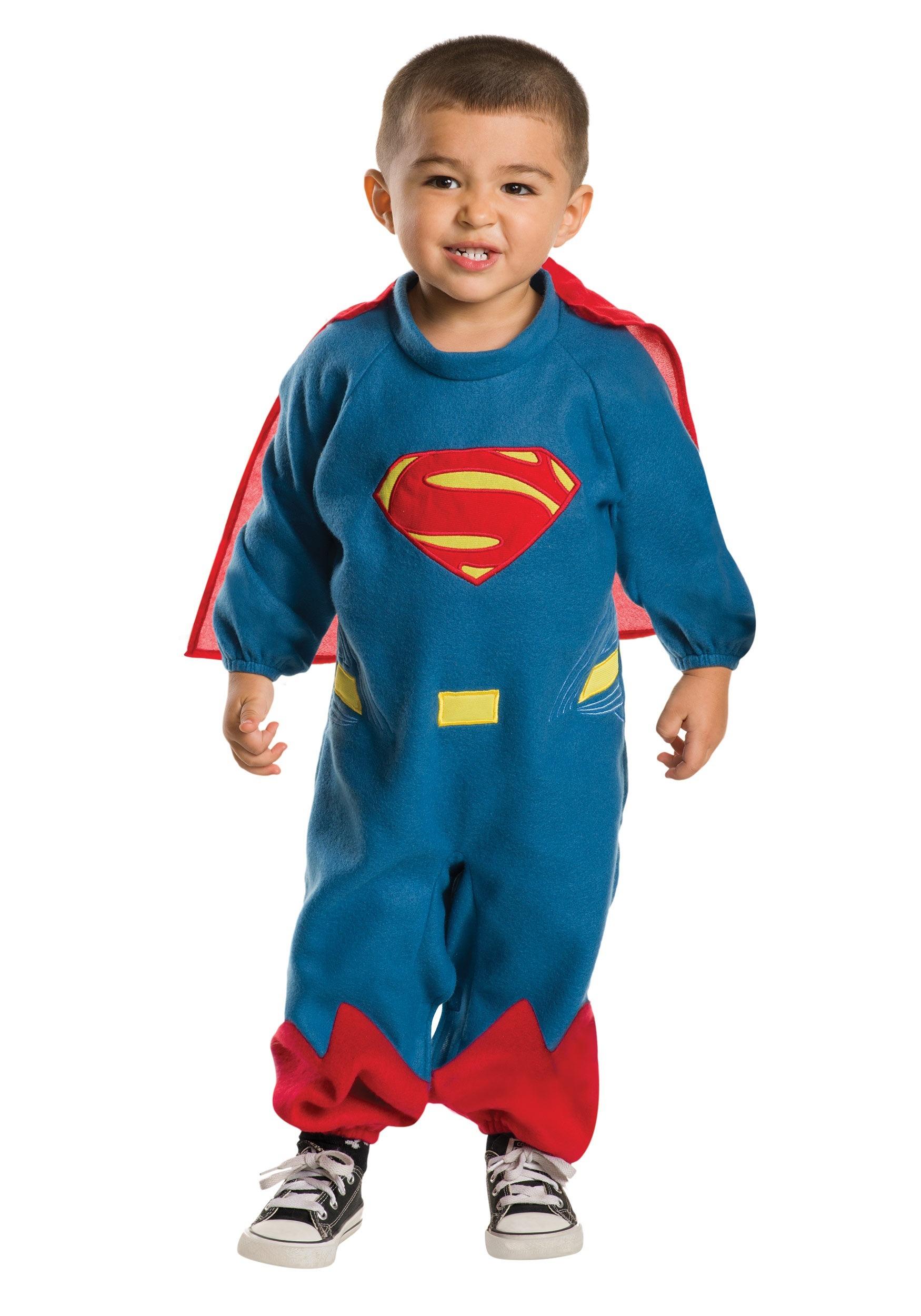 Toddler Superman Fleece Romper RU510160