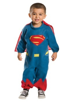 Toddler Superman Fleece Romper