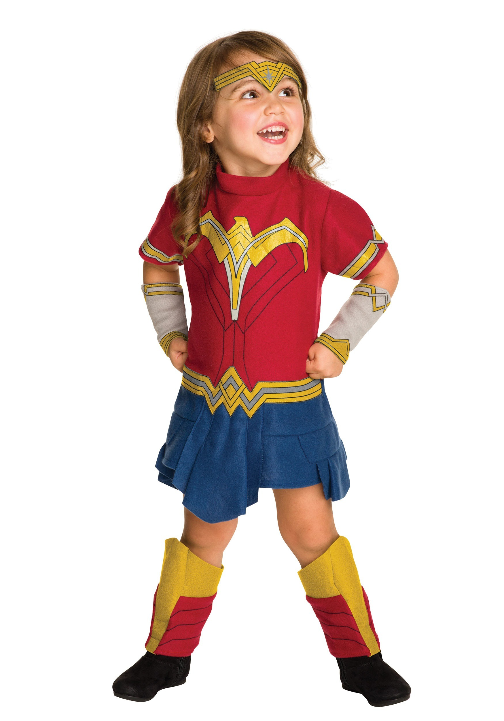 Toddler Wonder Woman Fleece Costume