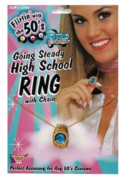 High School Class Ring Necklace 1