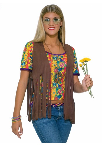 Sexy Hippie Vest By: Forum Novelties, Inc for the 2015 Costume season.