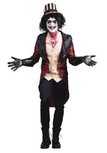 Click Here to buy Mens Mad House Ringmaster Costume from HalloweenCostumes, CDN Funds