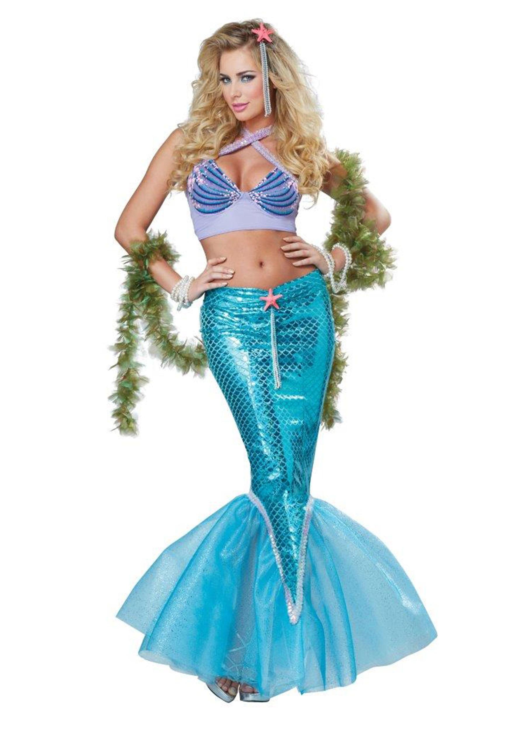 Sexy mermaid halloween costumes ass