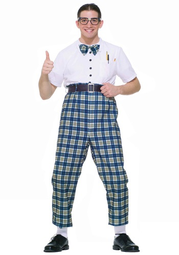 Click Here to buy 50s Class Nerd Costume from HalloweenCostumes, USA Funds & Shipping