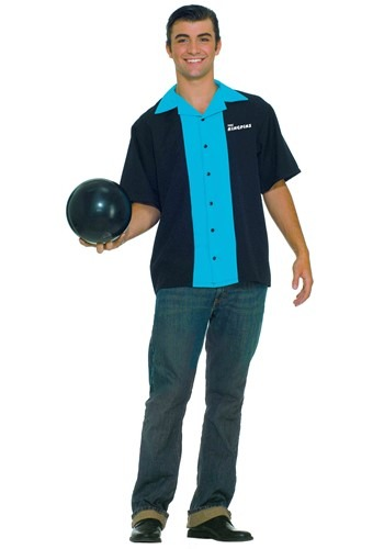 King Pin Bowling Shirt By: Forum Novelties, Inc for the 2015 Costume season.