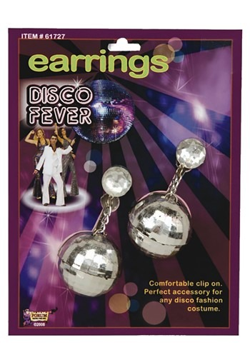 Disco Ball Earrings By: Forum Novelties, Inc for the 2015 Costume season.