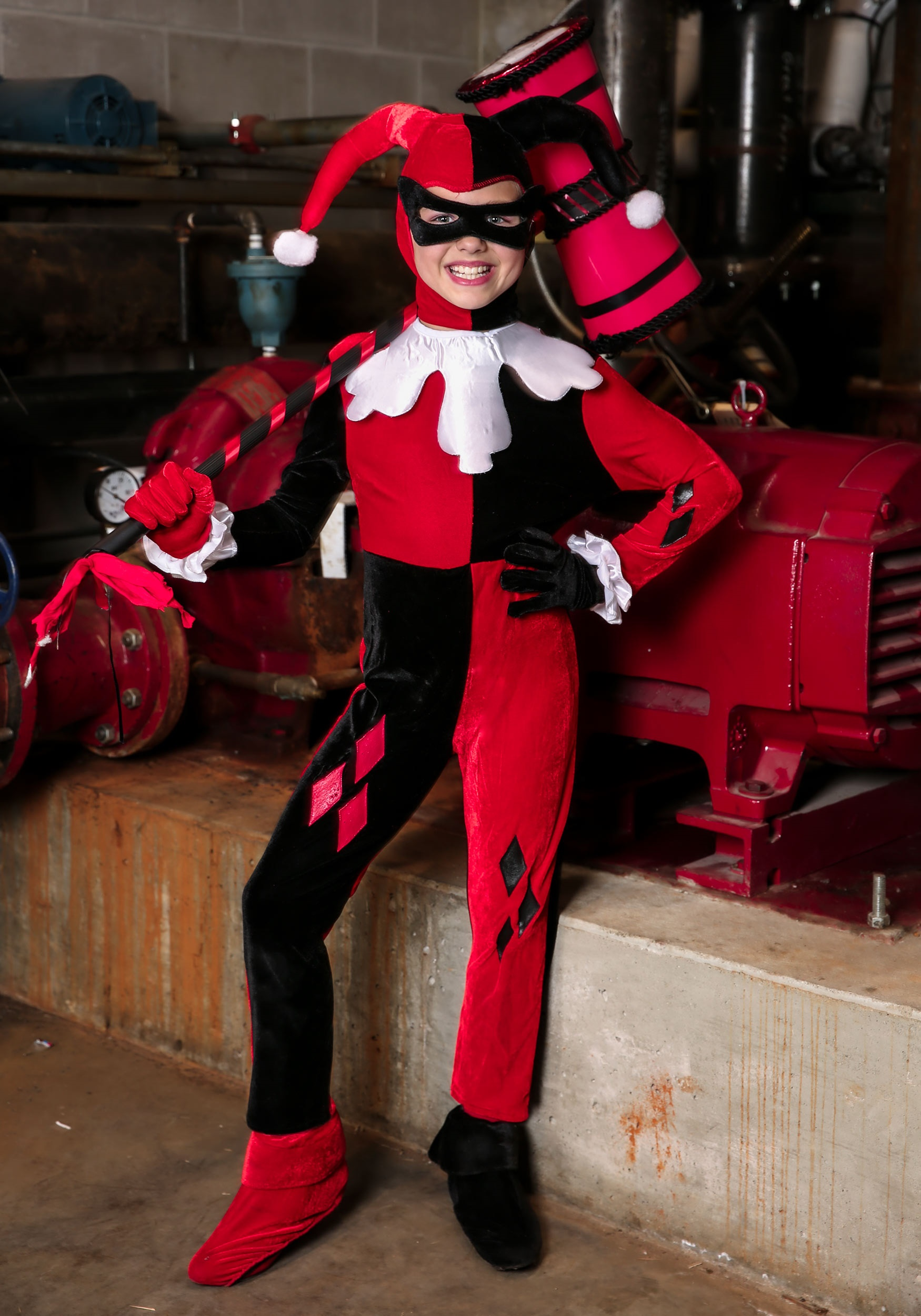 Child Harley Quinn Jumpsuit Costume : ll cool j halloween costume  - Germanpascual.Com