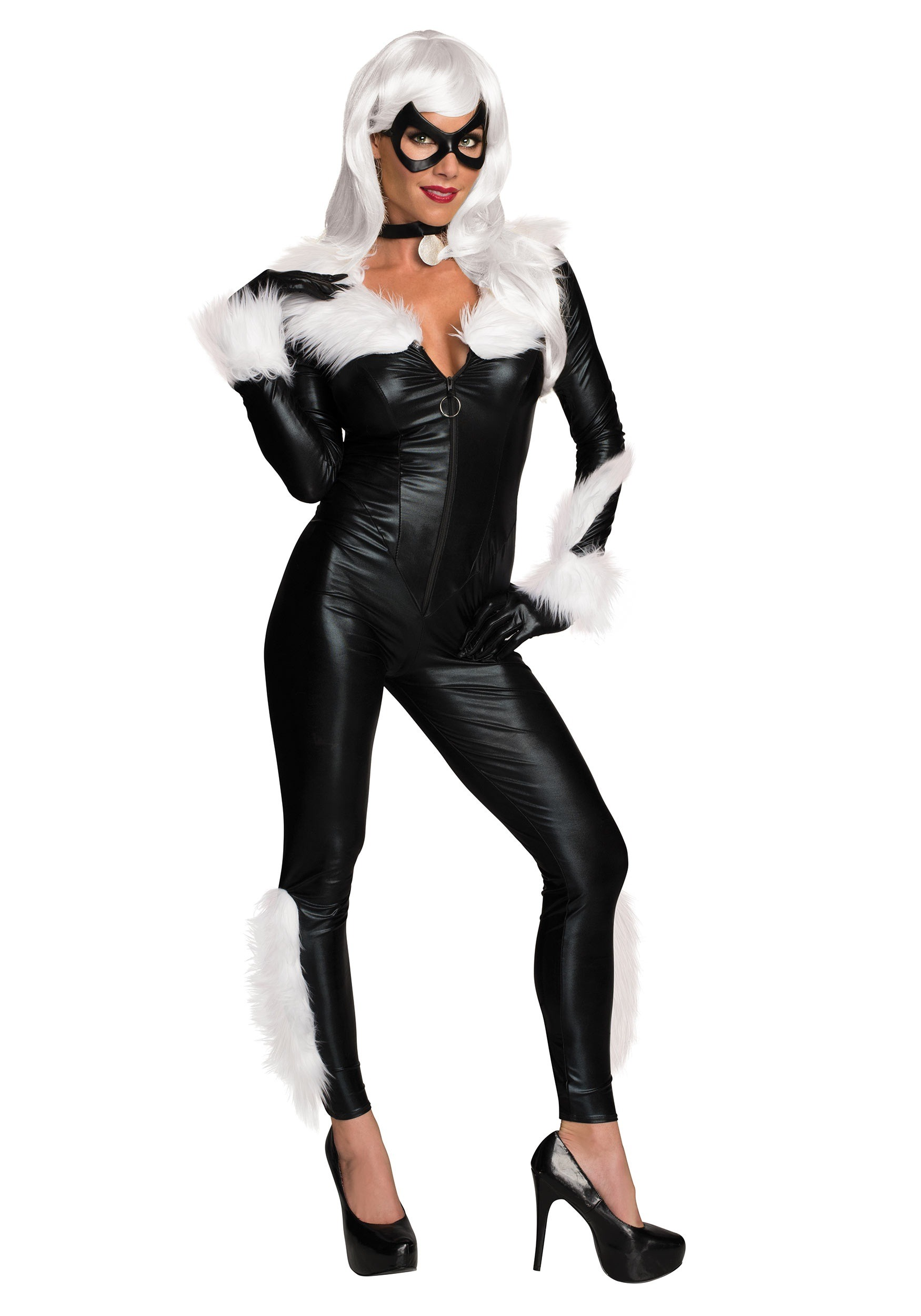 sc 1 st  Halloween Costumes & Womenu0027s Marvel Black Cat Costume