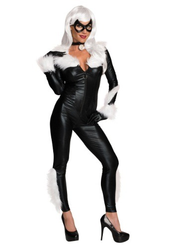 Women's Marvel Black Cat Costume RU810871