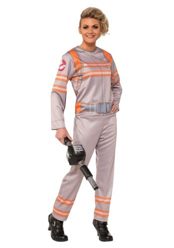 Click Here to buy Womens Ghostbusters Movie Costume from HalloweenCostumes, USA Funds & Shipping