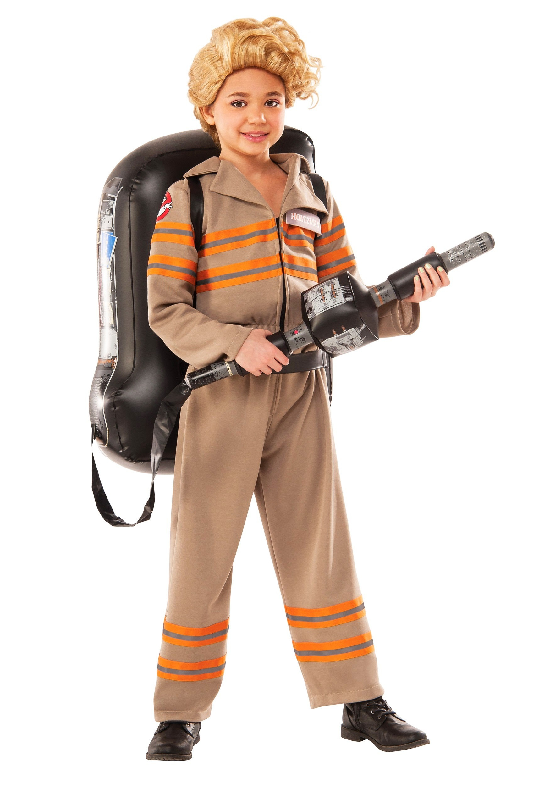 girls deluxe ghostbusters movie costume. Black Bedroom Furniture Sets. Home Design Ideas