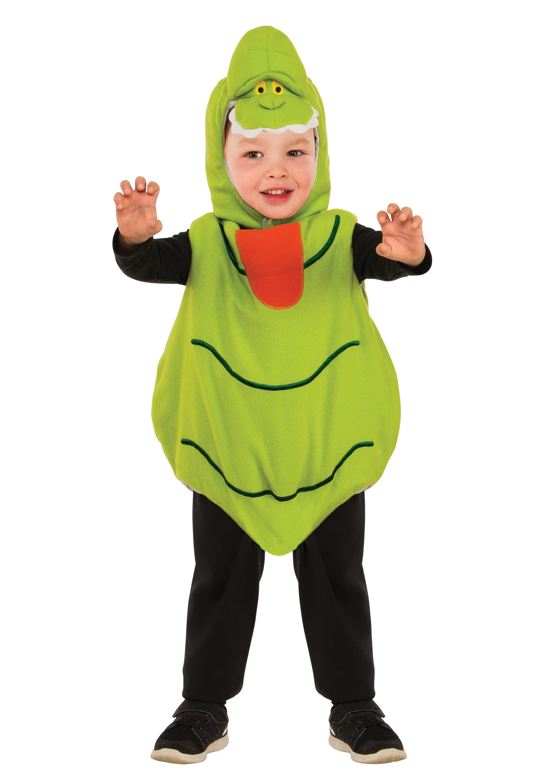 GHOSTBUSTERS SLIMER EZ-ON ROMPER