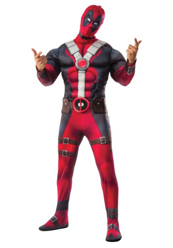 Deluxe Deadpool Movie Costume
