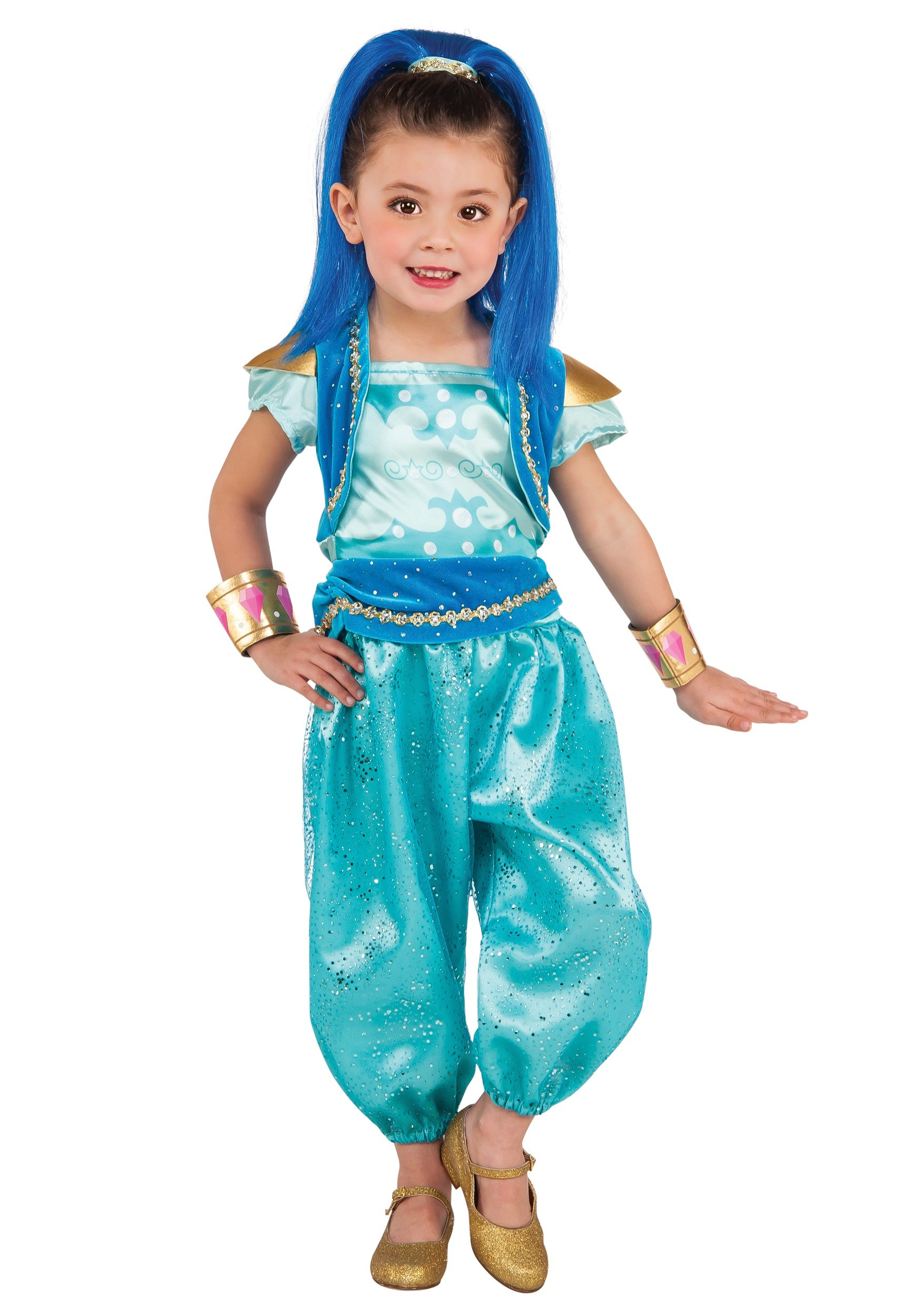 Girls Deluxe Shine Costume  sc 1 st  Halloween Costumes & Shimmer and Shine Costumes - HalloweenCostumes.com