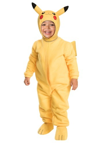 Click Here to buy Toddler Deluxe Pikachu Costume from HalloweenCostumes, CDN Funds