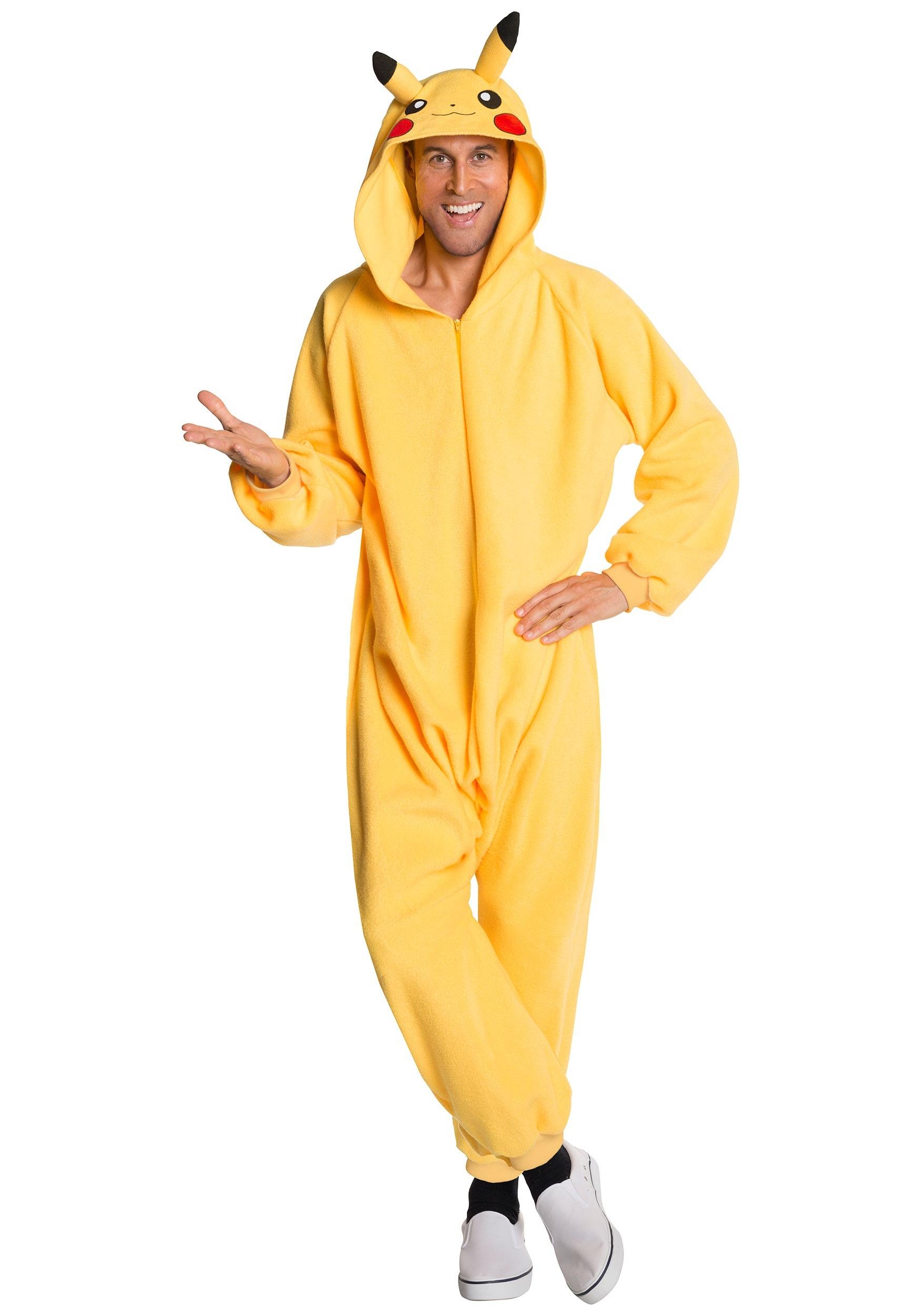 adult pikachu jumpsuit costume - Pikachu Halloween Costume Women