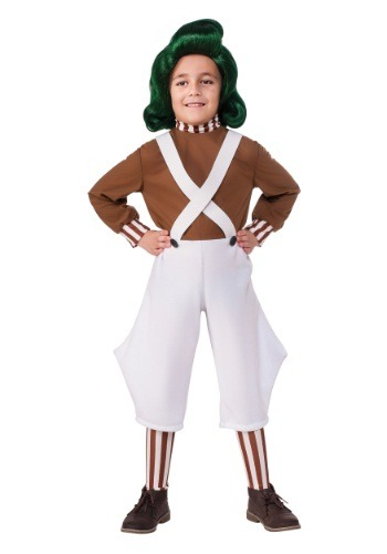 Child Oompa Loompa Costume RU620934-L