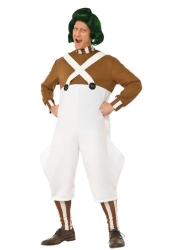 Mens Deluxe Oompa Loompa Costume