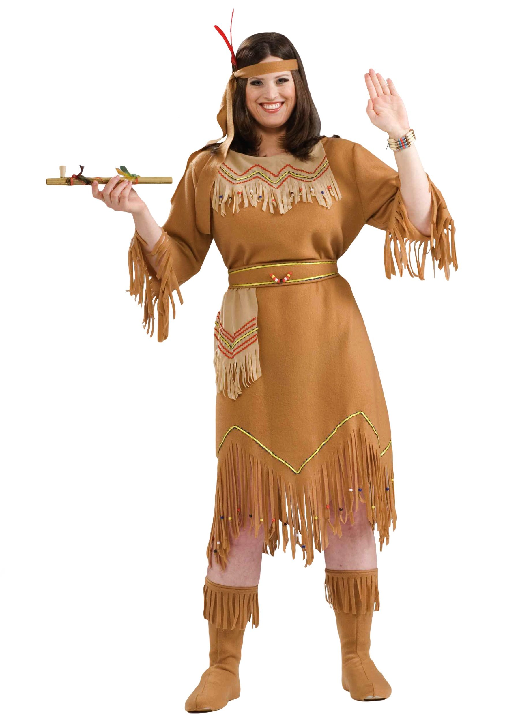 e4518115547 Plus Size Native American Costume 1X 2X