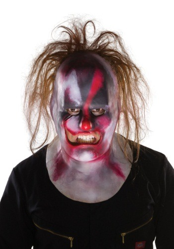 Click Here to buy Adult Slipknot Clown Mask from HalloweenCostumes, USA Funds & Shipping