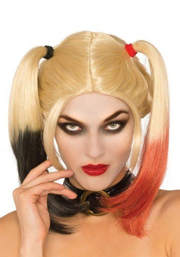 Womens Deluxe Harley Quinn Wig